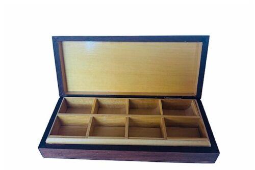 Steinbach organizer Nutcracker jewelry trinket box West Germany W Volkunst wood