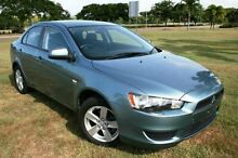 2008 Mitsubishi Lancer CJ MY08 ES Green 6 Speed Constant Variable Sedan Townsville Townsville City Preview