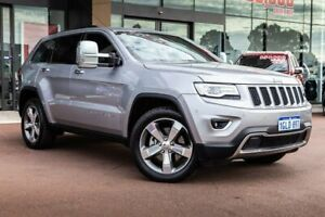 2016 Jeep Grand Cherokee WK MY15 Limited Silver 8 Speed Sports Automatic Wagon