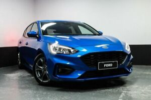 2018 Ford Focus SA 2019.25MY ST-Line Desert Island Blue 8 Speed Automatic Hatchback Telarah Maitland Area Preview