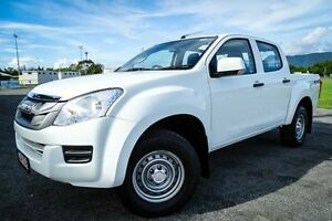 2015 Isuzu D-MAX MY15 SX Crew Cab White 5 Speed Sports Automatic Cab Chassis Parramatta Park Cairns City Preview