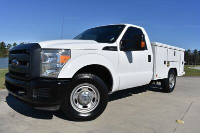2013 Ford F-250 XL 2013 Ford F250SD XL 155711 Miles White Pickup Truck 8 Automatic