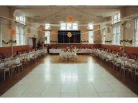 Wedding LED Dancefloor Starlight Hire £349 Flower Backdrop Rental Reception Stage Decor Hire £299