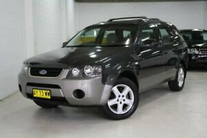 2008 Ford Territory SY TX Grey 4 Speed Sports Automatic Wagon Castle Hill The Hills District Preview
