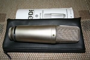 Rode NT1000 Large Diaphragm Condenser Microphone Cromer Manly Area Preview
