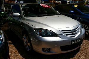 2004 Mazda 3 BK1031 SP23 Silver 4 Speed Sports Automatic Sedan Minchinbury Blacktown Area Preview