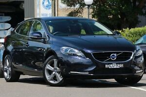 2016 Volvo V40 M MY16 T4 Luxury Magic Blue 6 Speed Automatic Hatchback Dee Why Manly Area Preview