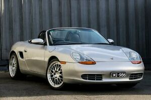 1997 Porsche Boxster 986 Silver 5 Speed Manual Convertible Ringwood East Maroondah Area Preview