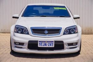 2007 Holden Special Vehicles Grange WM MY08 White 6 Speed Sports Automatic Sedan