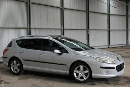2007 Peugeot 407 ST HDI Touring Silver 6 Speed Sports Automatic Wagon