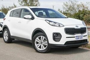2016 Kia Sportage QL MY16 Si 2WD Clear White 6 Speed Sports Automatic Wagon Clarkson Wanneroo Area Preview