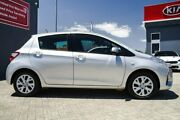 2017 Toyota Yaris NCP130R Ascent Silver 4 Speed Automatic Hatchback Morley Bayswater Area Preview