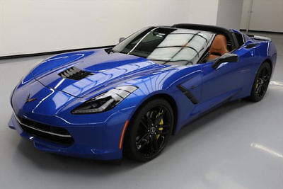 2015 CHEVY CORVETTE STINGRAY Z51 2LT AUTO NAV HUD 4K MI #112474 Texas Direct