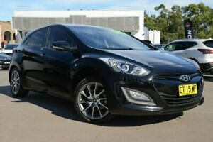 2013 Hyundai i30 GD2 SR Black 6 Speed Manual Hatchback McGraths Hill Hawkesbury Area Preview
