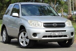 2004 Toyota RAV4 ACA22R CV Silver 4 Speed Automatic Hardtop Lansvale Liverpool Area Preview
