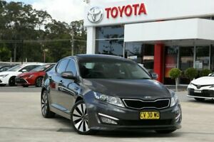 2012 Kia Optima TF Platinum Platinum Graphite 6 Speed Automatic Sedan Wyoming Gosford Area Preview