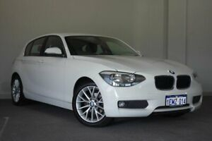 2014 BMW 1 Series F20 MY0713 118d Steptronic White 8 Speed Sports Automatic Hatchback Bayswater Bayswater Area Preview