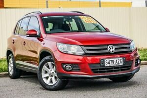 2013 Volkswagen Tiguan 5N MY13.5 132TSI DSG 4MOTION Pacific Red 7 Speed Sports Automatic Dual Clutch Gepps Cross Port Adelaide Area Preview