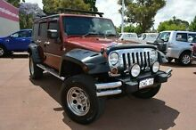 2009 Jeep Wrangler JK MY2009 Unlimited Sport Burgundy 4 Speed Automatic Softtop Gosnells Gosnells Area Preview
