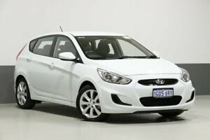 2018 Hyundai Accent RB6 MY18 Sport White 6 Speed Automatic Hatchback Bentley Canning Area Preview