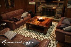Custom Reclaimed Wood Coffee Tables