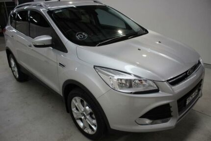2015 Ford Kuga TF MY15 Trend AWD Silver 6 Speed Sports Automatic Wagon