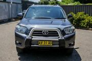 2008 Toyota Kluger GSU40R KX-S 2WD Grey 5 Speed Sports Automatic Wagon Greenacre Bankstown Area Preview