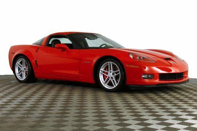 2006 Red Chevrolet Corvette Z06  | C6 Corvette Photo 6