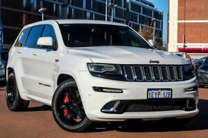 2016 Jeep Grand Cherokee WK MY15 SRT White 8 Speed Sports Automatic Wagon