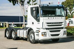 2012 Iveco STRALIS 450 E5 White Prime Mover Welshpool Canning Area Preview