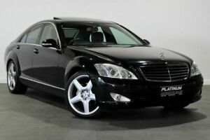 2008 Mercedes-Benz S-Class W221 MY08 S350 Black 7 Speed Automatic Sedan Bayswater Bayswater Area Preview