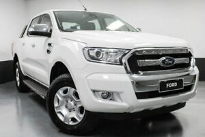 2015 Ford Ranger PX MkII XLT Double Cab Cool White 6 Speed Sports Automatic Utility Telarah Maitland Area Preview