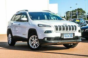 2017 Jeep Cherokee KL MY17 Longitude White 9 Speed Sports Automatic Wagon Rockingham Rockingham Area Preview
