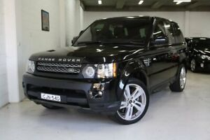 2012 Land Rover Range Rover Sport L320 12MY SDV6 CommandShift Luxury Black 6 Speed Sports Automatic Castle Hill The Hills District Preview