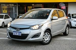 2012 Hyundai i20 PB MY12 Active Silver 4 Speed Automatic Hatchback Edgewater Joondalup Area Preview