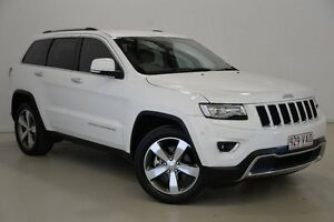 2014 Jeep Grand Cherokee WK MY2014 Limited White 8 Speed Sports Automatic Wagon Mansfield Brisbane South East Preview