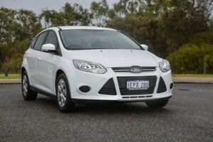2014 Ford Focus LW MkII Ambiente White 5 Speed Manual Hatchback