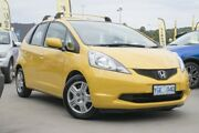 2008 Honda Jazz GE MY09 GLi Yellow 5 Speed Automatic Hatchback Pearce Woden Valley Preview
