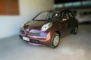 2009 Nissan Micra K12 Brown 4 Speed Automatic Hatchback Moorooka Brisbane South West Preview