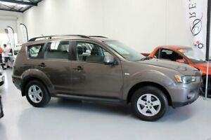 2011 Mitsubishi Outlander ZH MY11 LS (FWD) Bronze 6 Speed CVT Auto Sequential Wagon Welshpool Canning Area Preview