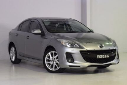 2013 Mazda 3 BL10L2 MY13 SP25 Activematic Silver 5 Speed Sports Automatic Sedan