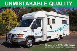 U3251 Winnebago Iveco Freewind, VERY LOW KM'S, Spacious Slide Out Penrith Penrith Area Preview