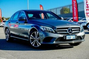 2019 Mercedes-Benz C-Class W205 800MY C200 9G-Tronic Grey Sports Automatic Sedan Wangara Wanneroo Area Preview