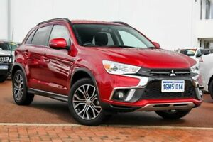 2018 Mitsubishi ASX XC MY18 LS 2WD Red 6 Speed Constant Variable Wagon Rockingham Rockingham Area Preview