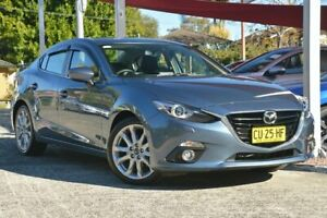 2013 Mazda 3 BL Series 2 MY13 SP25 Blue 5 Speed Automatic Sedan Wyoming Gosford Area Preview