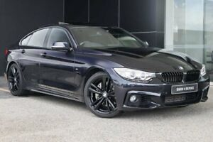 2014 BMW 435i F36 Gran Coupe Carbon Black 8 Speed Sports Automatic Hatchback Wangara Wanneroo Area Preview