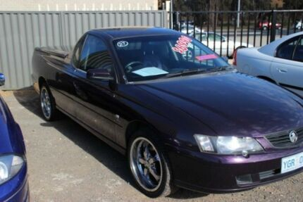 2003 Holden Commodore VY S Purple 5 Speed Manual Utility Mitchell Gungahlin Area Preview