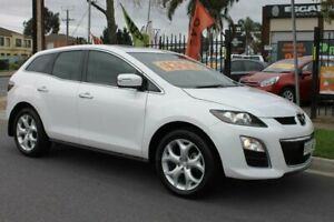 2009 Mazda CX-7 ER MY10 Luxury Sports (4x4) White 6 Speed Auto Activematic Wagon Klemzig Port Adelaide Area Preview