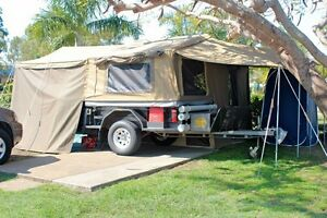 2005 Trackabout Off Road Deluxe Tourer Camper Trailer Frenchville Rockhampton City Preview