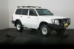 2003 Toyota Landcruiser HZJ105R (4x4) White 5 Speed Manual 4x4 Wagon McGraths Hill Hawkesbury Area Preview